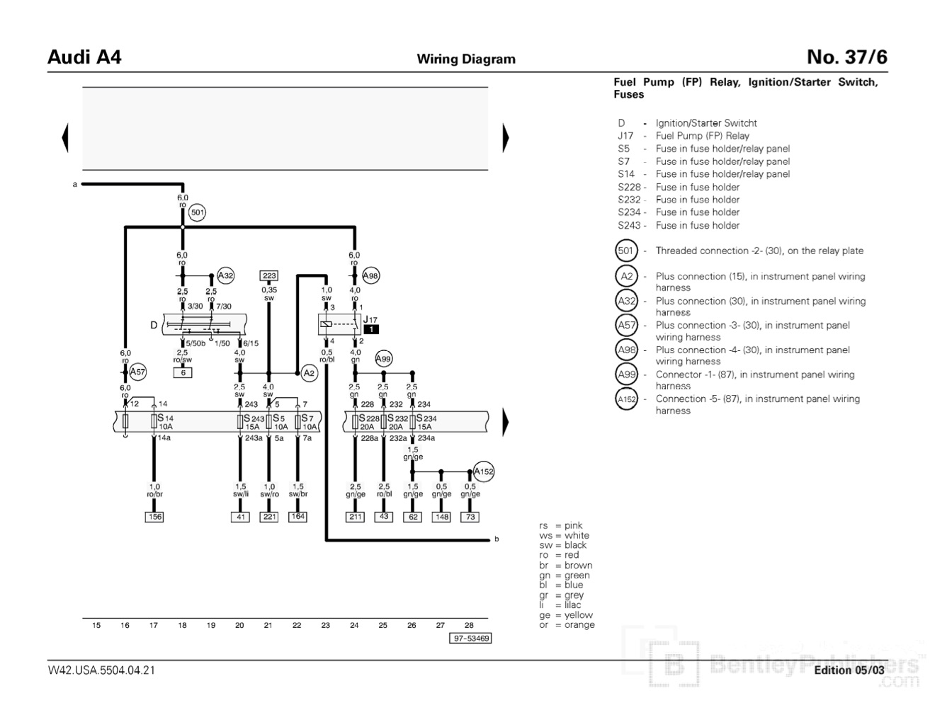 Fuse Box In Audi A4 2000 : B passat fuse panel diagram imageresizertool